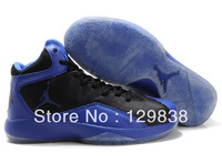 New Brand Classic Jordan 26 basketball shoes Blue&blue Leather men High-top Sport  shoes Free shipping A06