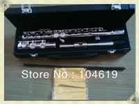 brand new ya flute nickel silver plated closed hole ymh 221 211 271 woodwind musical instrument free shipping