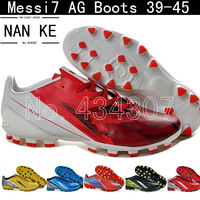 2014 New arrival messi 7 AG FIND FAST boots soccer shoes,high quality F50 football sneakers for men 21 colors