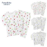 Baby underwear set cotton baby 100% general autumn baby 0 - 4