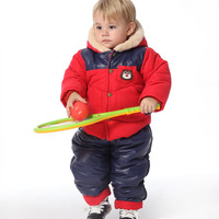 Suprenergic doll children's clothing baby wadded jacket baby winter infant wadded jacket set 1378