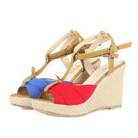 size 41-43 Large Big Size Woman Wedges Sandals Summer Shoes Platform Sandals