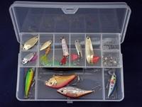 Good quality fly fishing tackle box lure hook bait box multifunction fishing box