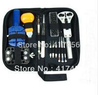 13pcs Watch Repair Tool Kit Zip Case Opener Link Remover