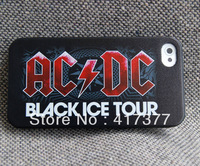 ACDC Black Ice Tour Death Core Brian Heavy Metal Plastic Case for iPhone 4 4G 4S 5 5G 5S 5C