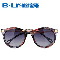 Fashion circle arrow vintage sunglasses fashion female personality sun-shading 2013 sunglasses fancy glasses