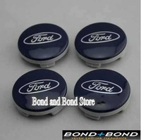 4X 54MM FORD WHEEL CENTER CAP FOR FOCUS FIESTA KA MONDEO GALAXY C MAX Wheel Hub Cap FREE SHIPPING