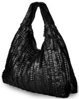 Sheepskin bag fashion all-match patchwork genuine leather big bag one shoulder cross-body 100% women's leather handbag