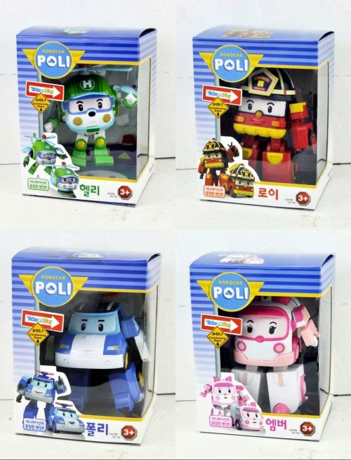 Robocar poli 4pcs deformation car bubble South Korea Thomas toys 2014 children like toys popular cartoon toys(China (Mainland))