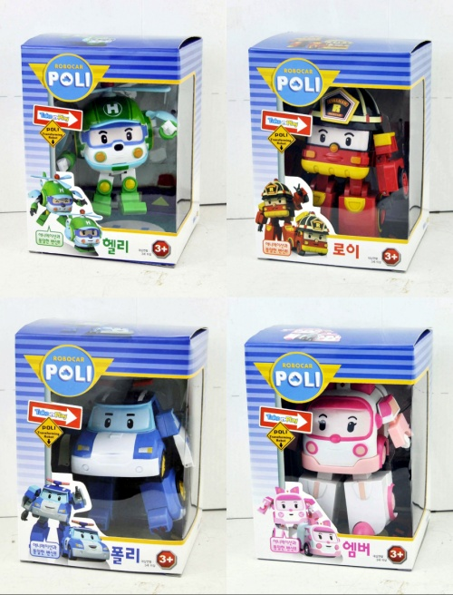 Robocar poli 4pcs deformation car bubble South Korea Thomas toys 2014 children like toys popular cartoon toys(China (Mainland))
