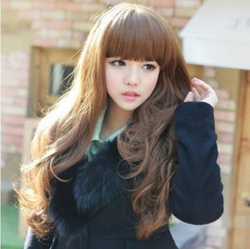 Anime Girl With Long Brown Hair Girl Long Wavy Curly Anime