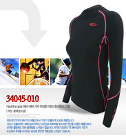 2014 New 34044 Women> Autumn / Long Sleeves High-collar >Slim Tight Fit>T-shirts Under Layer