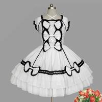 newest! free shippiong Lolita princess royal nobility gorgeous short-sleeve dress customize  hot