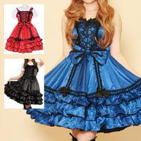newest! free shippiong Sweets lolita dress punk one-piece dress  hot