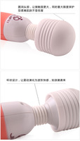 Adult supplies wholesale 220V line av rod vibration massager female masturbation appliances health care