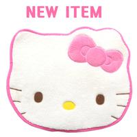 Cute Gifts Hello Kitty Head Shaped Plush Rug Doormat Mat Pad Carpet Size : 23' x 19' (60cm x 50cm)