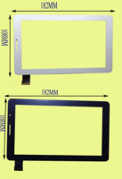 Free shipping Astra p1000fpc-708a0-v04 v03 jgd-tp100 touch screen 7