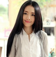 Women's new fashion hot selling long straight full lace wigs