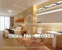 Warm White 93cm Modern Energy-Saving High-End Minimalist LED Acrylic Sink Stainless Steel Bathroom Mirror Light Wall Lamp cc29k