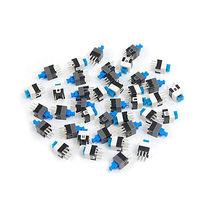 7 x 7mm PCB Latching Tactile Tact Push Button Switch Locking 6 Pin