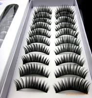 Taiwan  Thick Long Hand Made False Eyelashes Daily& Stage Makeup Eyelash Extension 200packs=2000pairs Eyelashes Voluminous