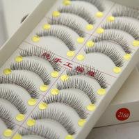 Taiwan Makeup Mink Eyelashes False Eye Lashes Natural Regular Long Hand Made Eyelash Extension 150packs=1500pairs Eyelashes 216#