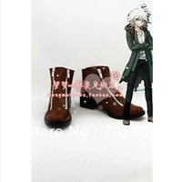 Wholesale/retail freeshipping hot sale Cheap Cosplay Shoes & Boots Dangan Ronpa Komaeda Nagito boots Christmas Halloween 1672