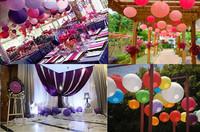"Free Shipping New arrive Chinese round paper lantern 20cm(8"") 20pcs/ lot wedding lantern decoration alibaba wholesale"