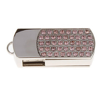 Classic Crystal Jewelry USB Flash Drive 8GB 16GB 32GB 64GB 100% full capacity