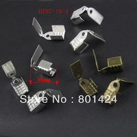 Free Shipping 600pcs 87-19 jewelry finding cord crimp end caps for lather crimp tips