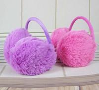2014 solid children active unisex faux kill earmuff earmuffs accessories ear muffs kids winter protective warmer warmers