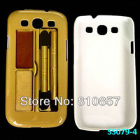 RETAIL, Makeup Case for Samsung Galaxy S3 Skin Case, Eye Shadow Print Cover for S3 SIII i9300. FREE SHIP