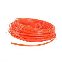 New Orange 25Meter 4mm(OD) x 2.5(ID) PU Air Compressor Tubing Pipe Hose DSHL