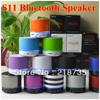 Free Shipping S11 Wireless Bluetooth 4.0 Mini Speaker For Bluetooth Mobliephone Support Answer Calling And TF Card