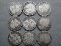 Details about Chinese Old Collectibles Handwork Miao Silver Souvenir Coins
