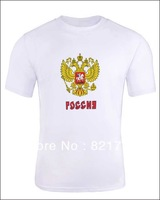Custom Russia 2014 Olympic  Name and Player Print  Women and Men Short Sleeve DIY T Shirts send your name number leave comment