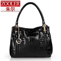 Autumn women's handbag fashion bag leather bag women's handbag crocodile pattern bag women's shoulder bag