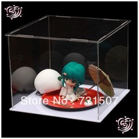 LED Light Board Display Boxes For GSC Snow Miku Display Box,Acrylic Japanese Anime Figure Cabinet
