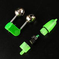 20 pcs per lot, LED Night Fishing Accessory Fishing Float Twin Bell Ring fishing Bite Alarm
