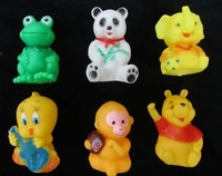 Baby bath toys Dabbling animal  toys infant educational toys playing water toys free shipping