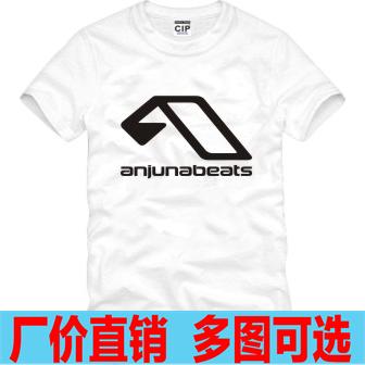 Помимо anjunabeats футболка-мужчины женщины mc короткий
