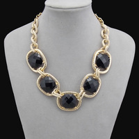Clearance black  round women pendants & necklaces easy