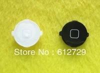 100pcs/lot  key return key for iphone 4s  circle key return key black white