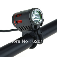 LusteFire P10 CREE XM-L2 T6 5-Mode 800LM Cool White High Beam Bike Bicycle Light + Charger + 4 x 18650 Battery Pack