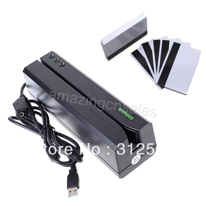 Card Device MSR605 Magnetic Strip Card Reader Writer Encoder MSR206 MSR609 MSR 605 MSR 206 606 Magstrip 3-Track Hi-Co(China (Mainland))