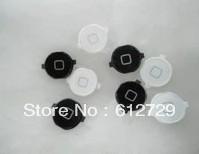 100pcs/lot  4th generation  key return key for iphone 4  circle key return key black white
