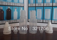 Wholesale Free UPS Shipping 3000pcs three-piece ophthalmic 10ml plastic Empty Water Dropper bottles  LDPE Childpoof eye drops