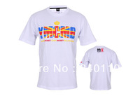 2014 New arrive  fashion hip hop famous brand YMCMB t shirt short sleeve tee shirt 100% cotton Free shipping Size S-XXXL