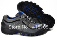 Free Shipping 2013 new arrival outdoor hiking shoes men high top shoes lining climbing shoes trekking shoes hiking shoes