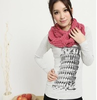 E8048 cool autumn and winter 2014 candy color yarn scarf muffler yarn pullover muffler scarf